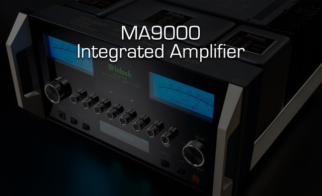 MA9000 Integrated Amplifier